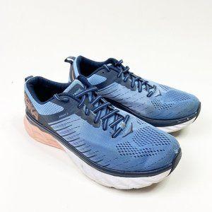 HOKA Arahi 3 Blue Purple Running Shoe Sneaker
